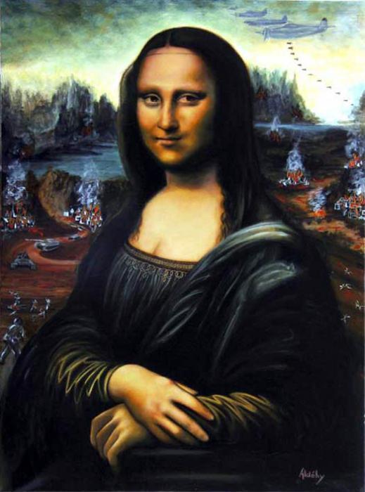 Mona Lisa por Aldehy